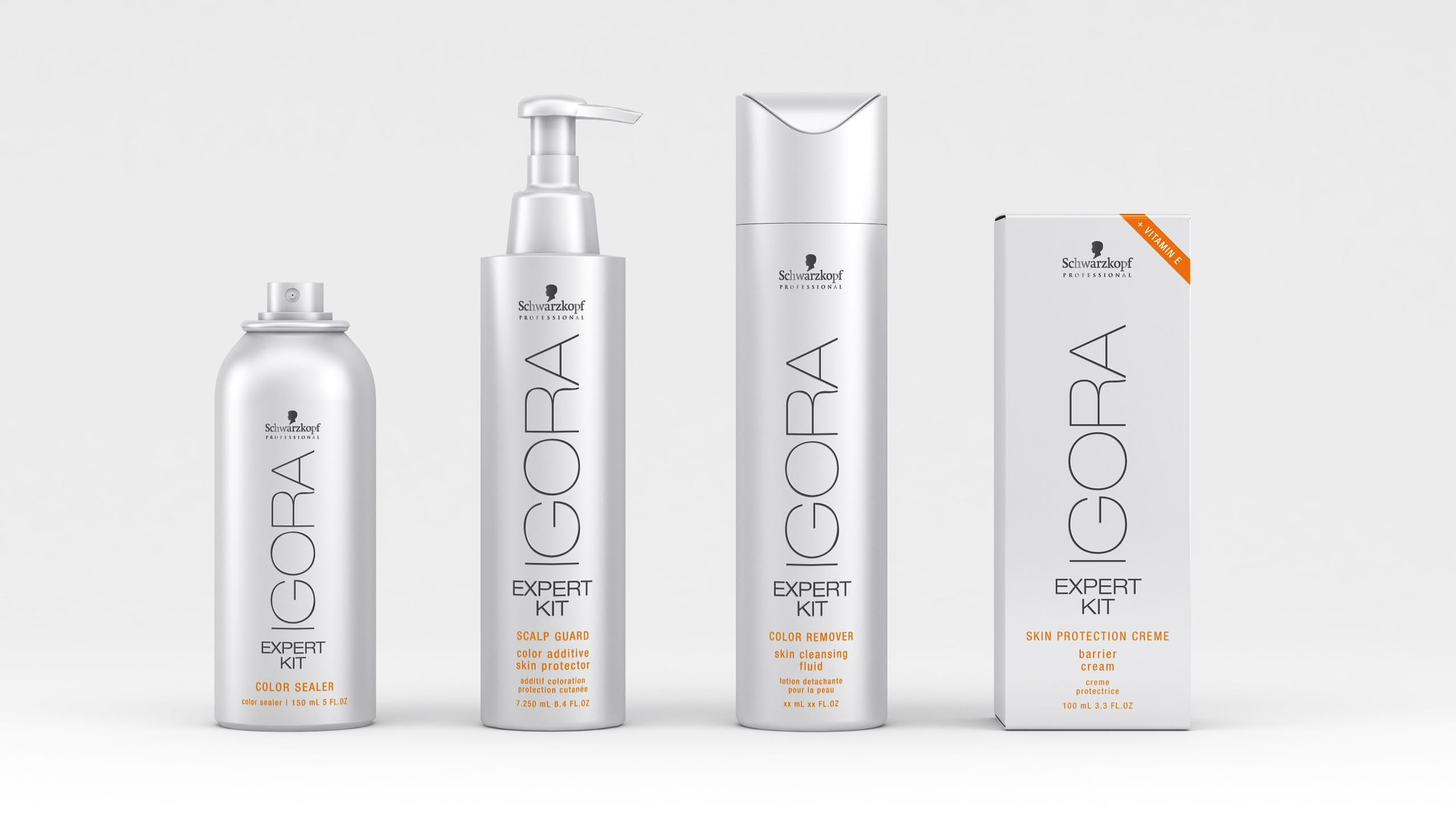 brand design of Igora Royal for Schwarzopf Professional