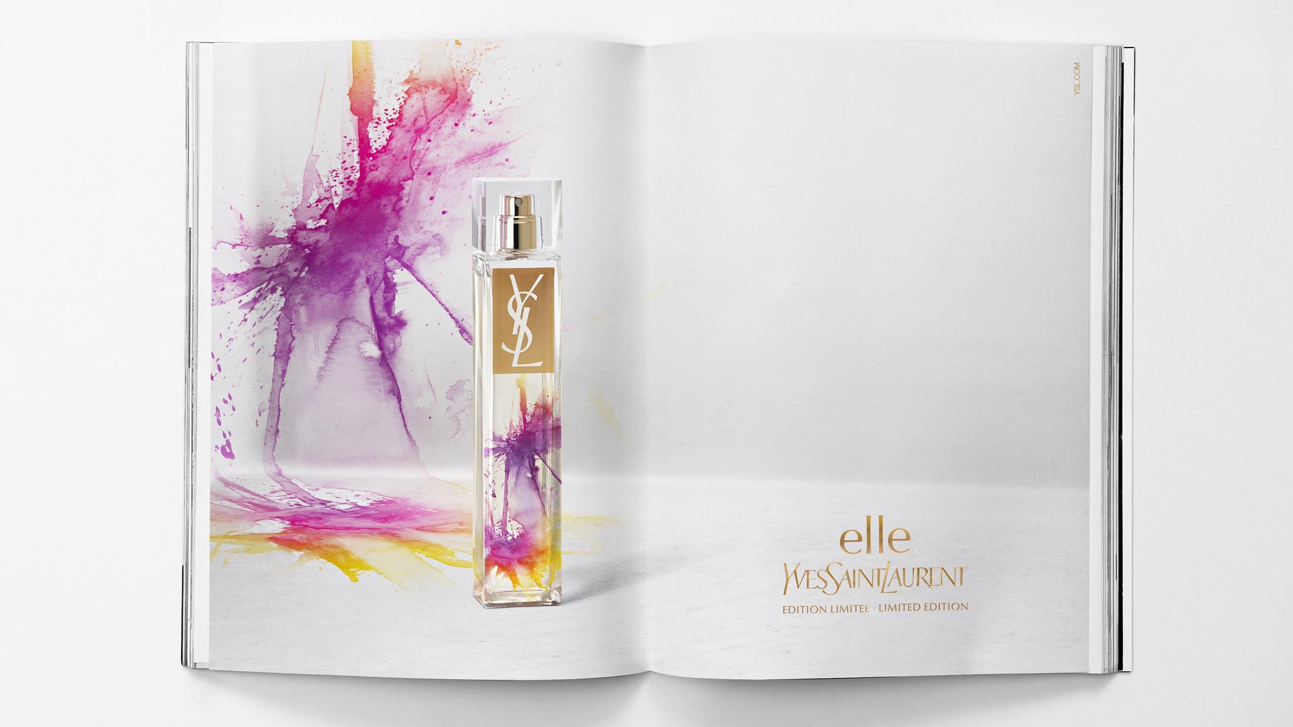 Yves Saint Laurent, YSL, Elle Splash, perfume
