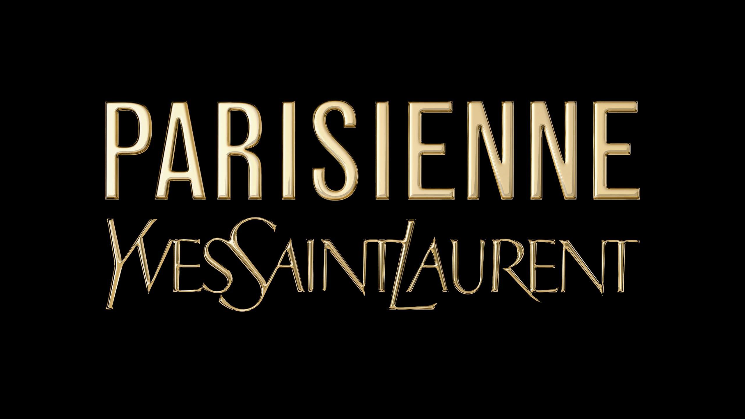 3D-logo for Yves Saint Laurent's Pariesienne