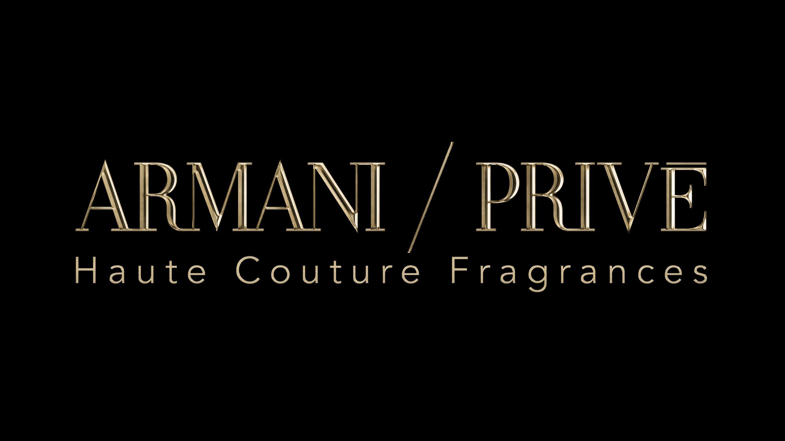 3D-logo for Armani Privé