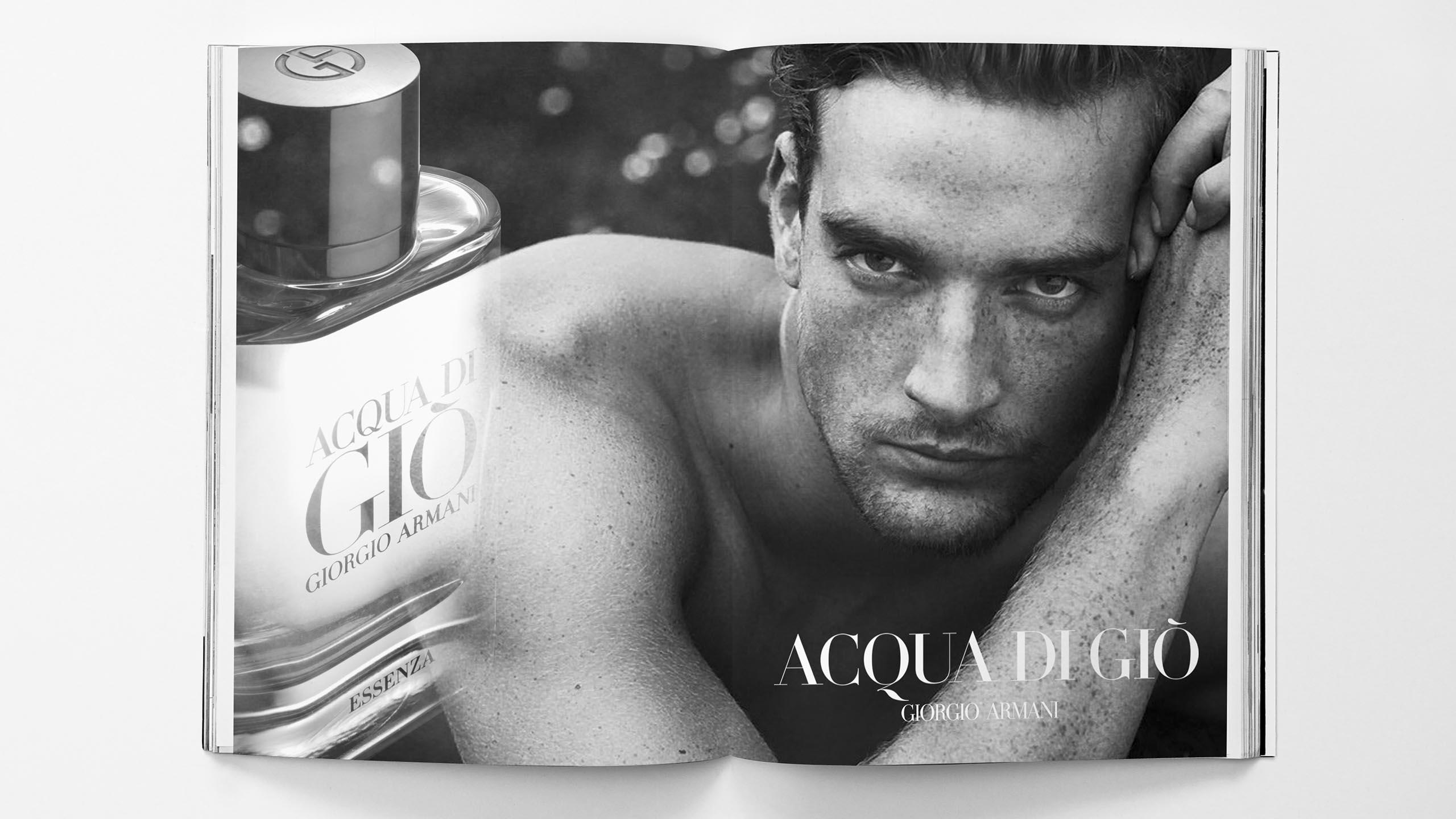 global campaign for Acqua di Gio