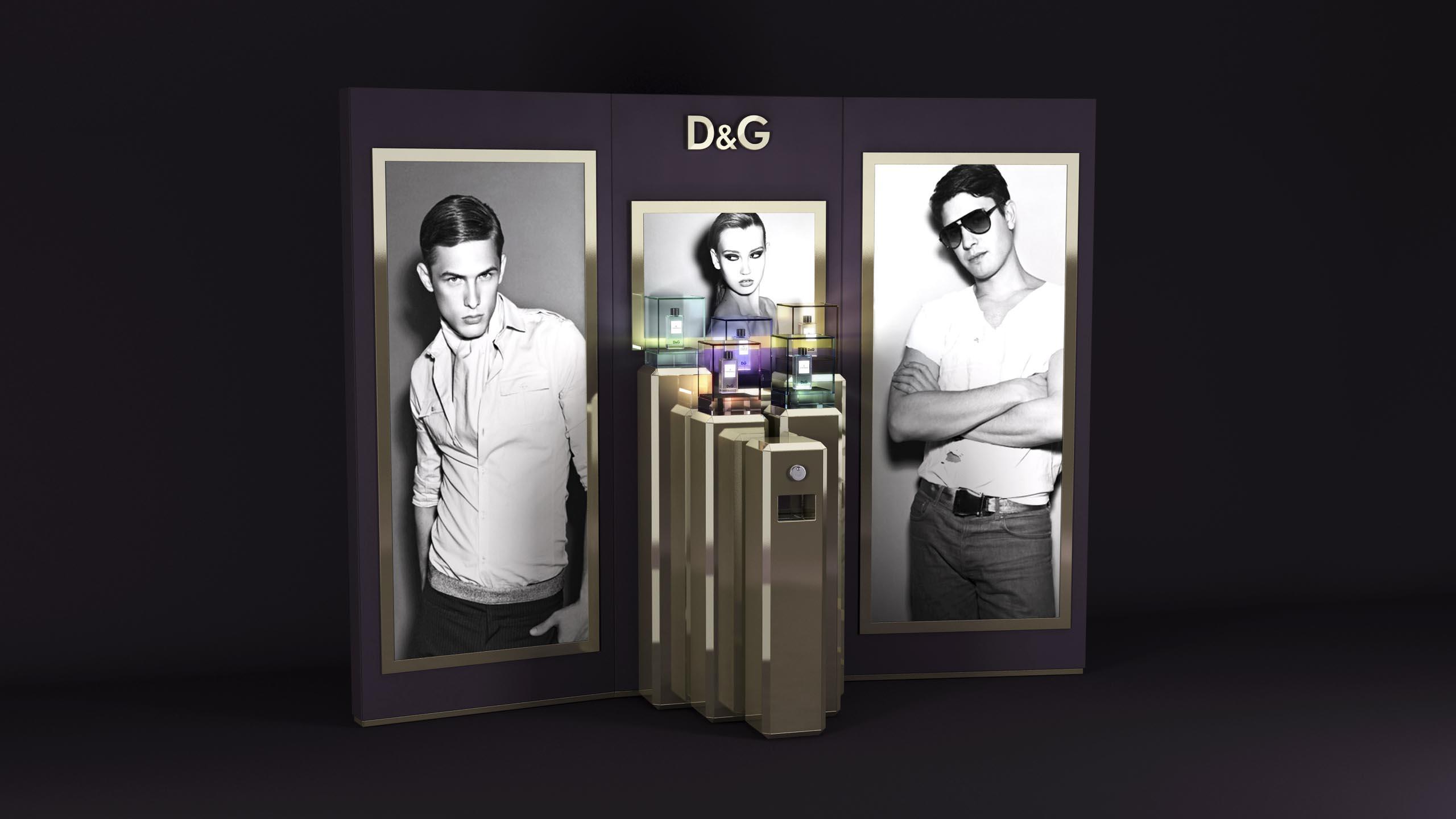 luxury POS study  D&G Anthology by janvonborstel-studios