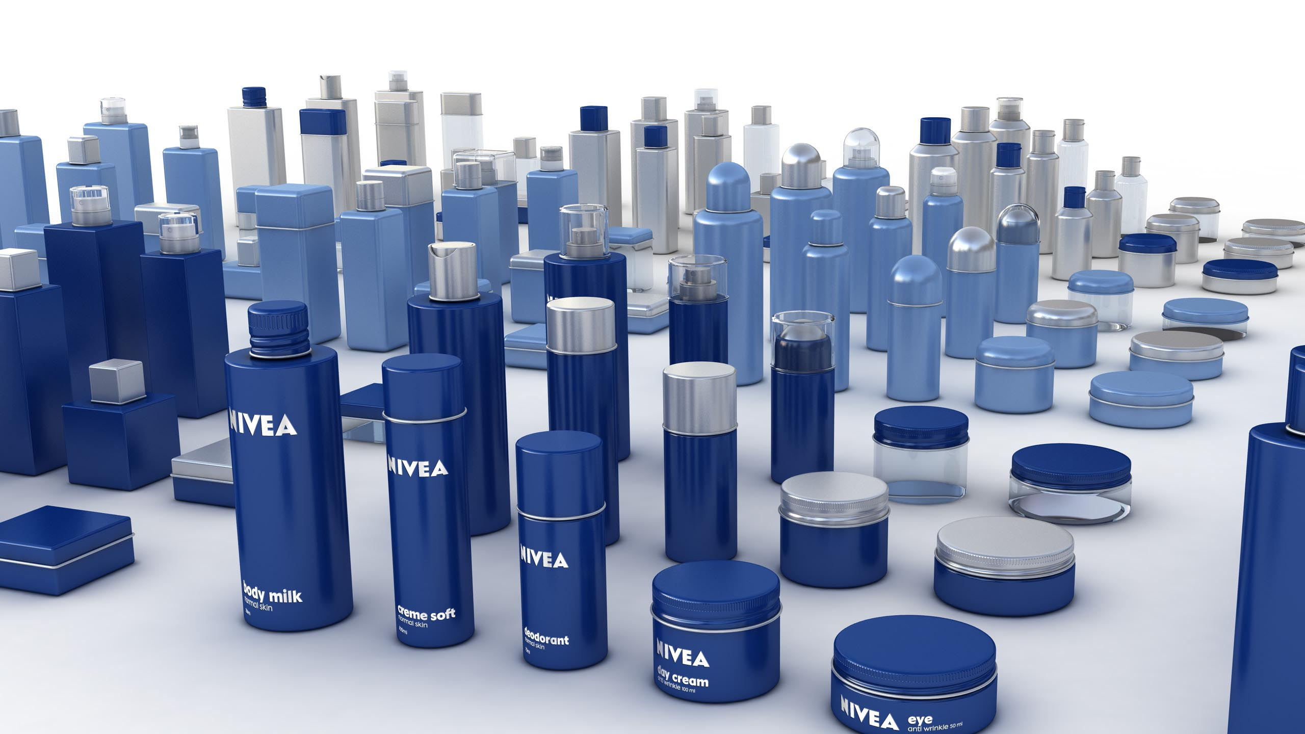 re-branding Nivea product architecture