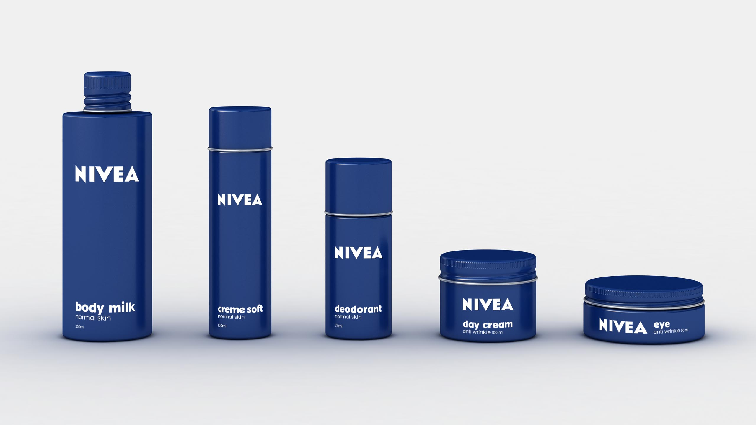 re-branding Nivea product architecture