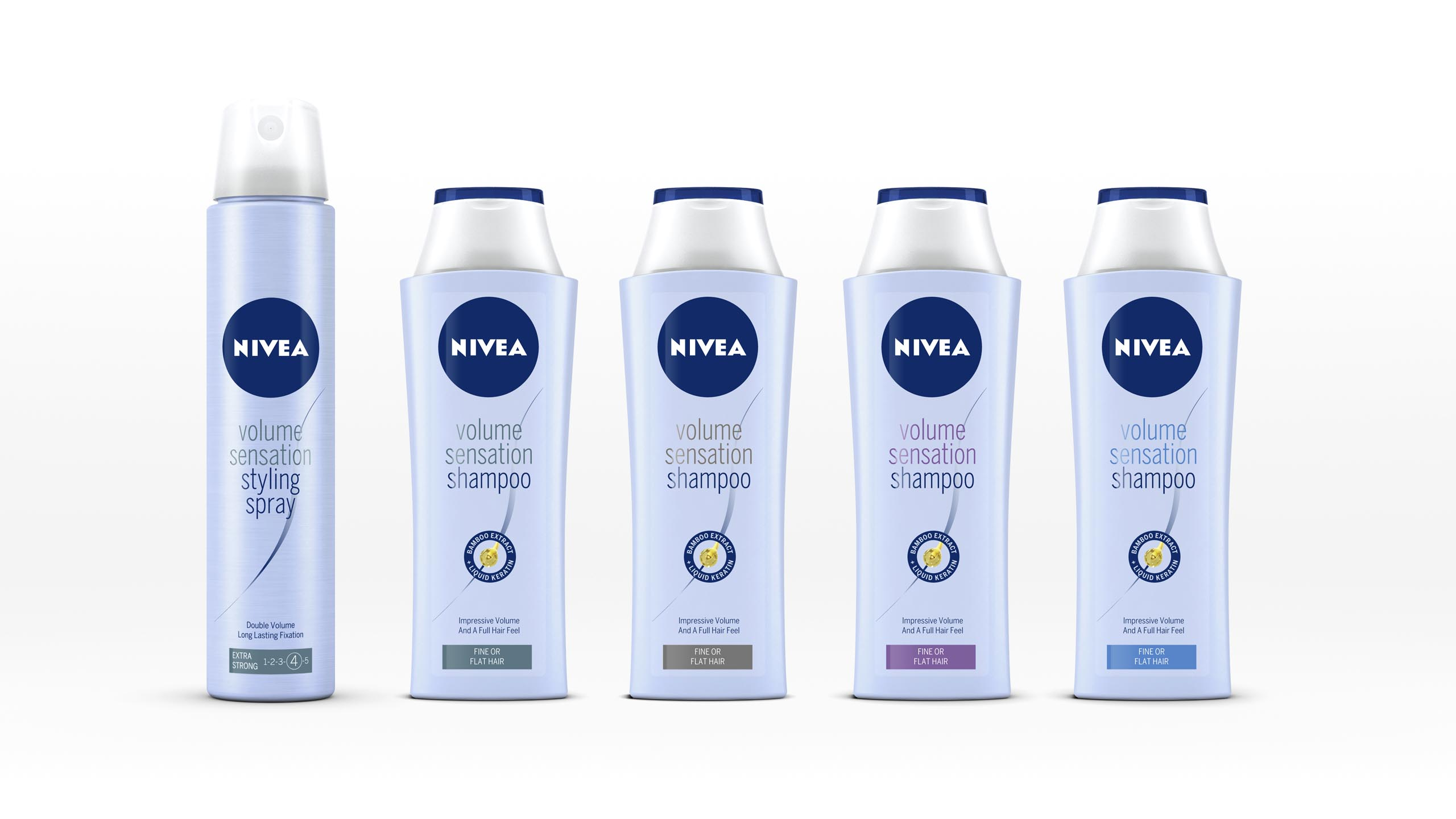 Branding Nivea hair products relaunch