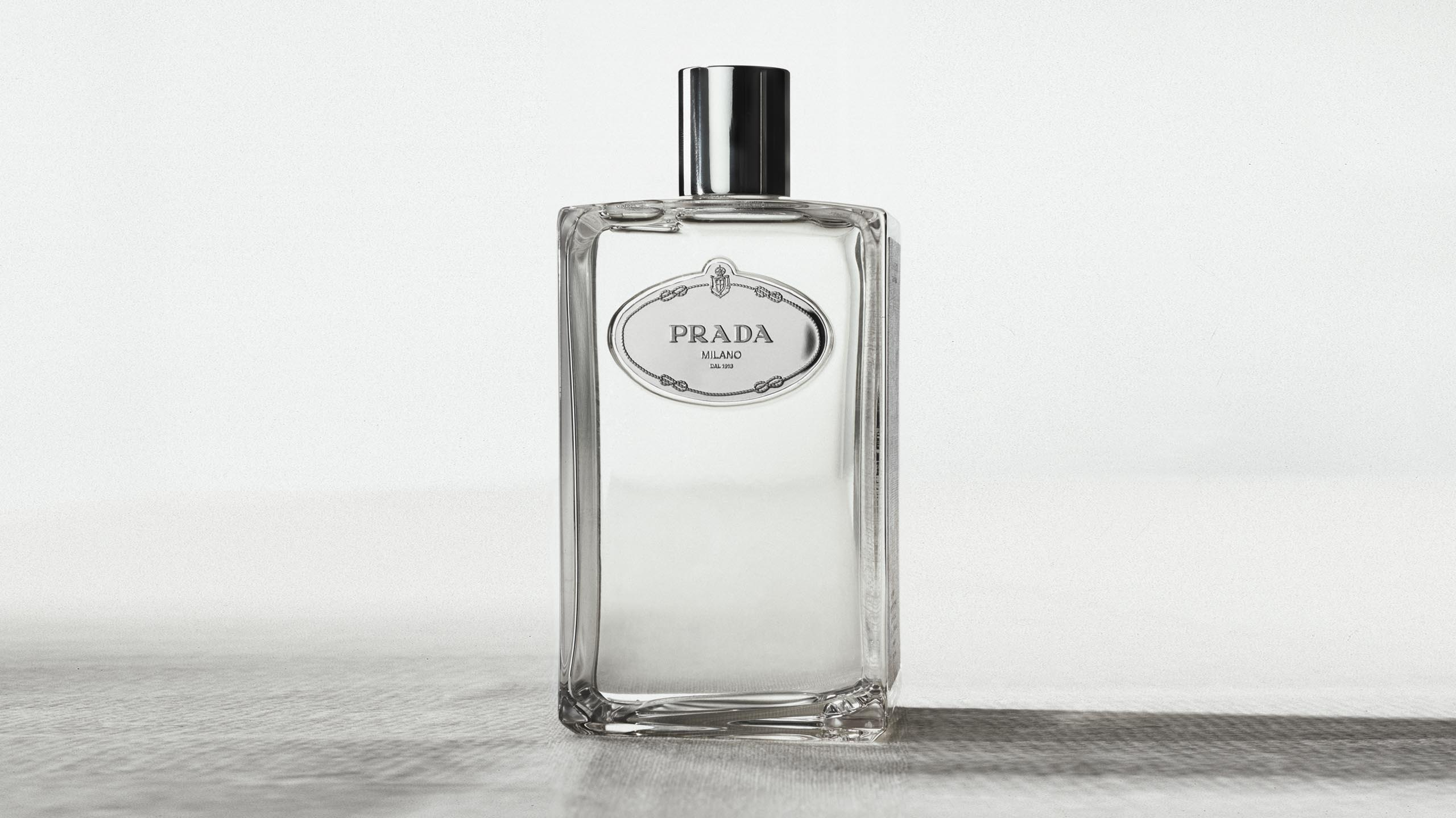 Prada's fragrance Infusion d'Iris flacon