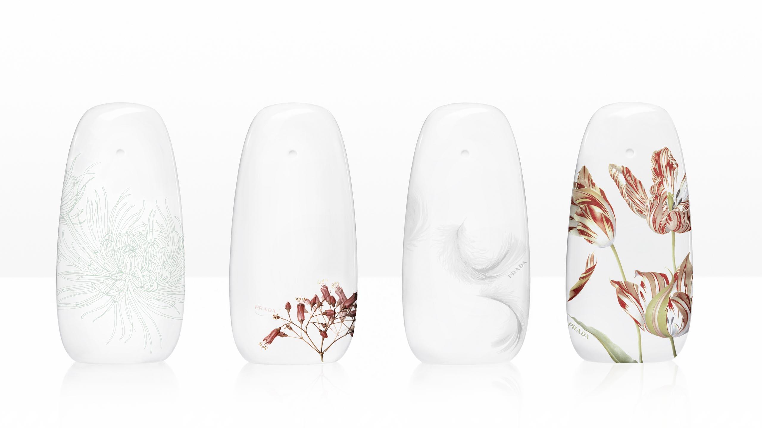 Prada Fragrance Collection - flacon design